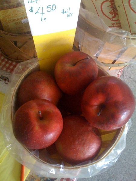 My new Apples